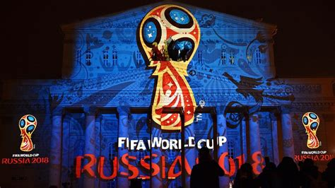 the story of the world cup 2018 books fifa president sepp blatter has revealed the logo for the