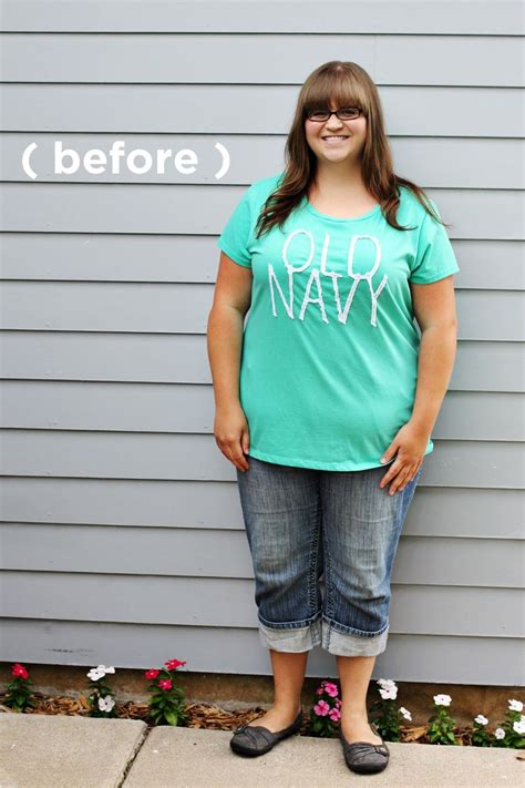 plus size make over erin s fresh fun makeover story a beautiful mess
