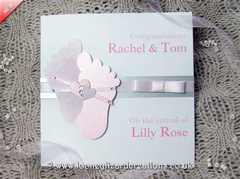 New Baby Handmade Cards - cherished handmade new baby card