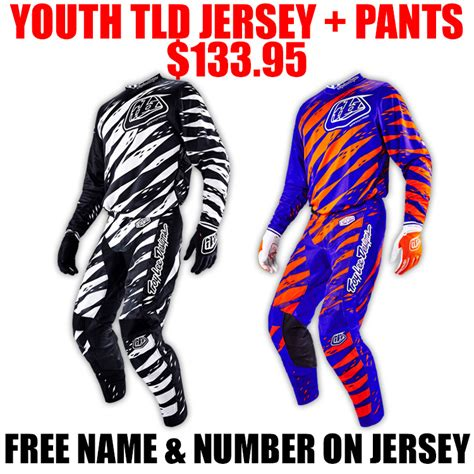 motocross gear combos closeouts tld gp youth vert gear combo pro style mx
