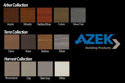 azek colors azek deck colors search deck ideas