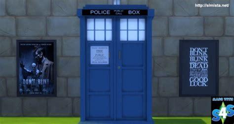 Tardis Wardrobe by Simista Dr Who Tardis Wardrobe Sims 4 Downloads