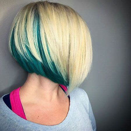 bob hairstyles with color underneath 35 gorgeous peekaboo highlights to enhance your hair