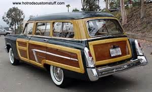 Auto Upholstery Escondido Hotrodscustomstuff Com 1952 Mercury Station Wagon