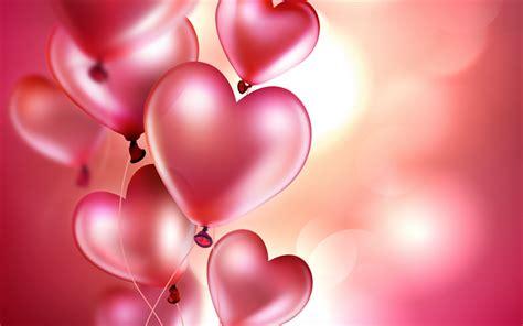 3d ball wallpaper pink download wallpapers 3d pink balls pink heart balloons