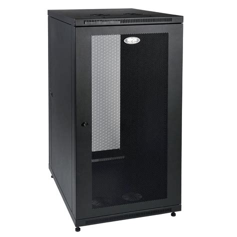 tripp lite smartrack 24 unit rack enclosure cabinet