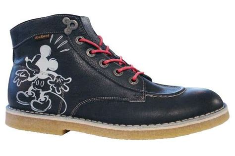Kickers Boot Gn New Mdel 2 silhouetted mouse fashion kickers x minnie mickey