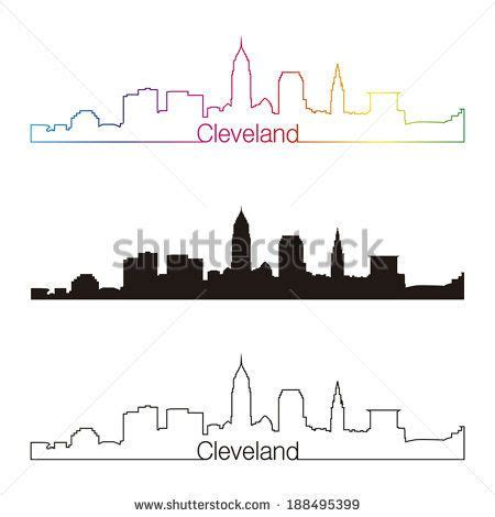 cleveland skyline tattoo cleveland skyline outline search tats