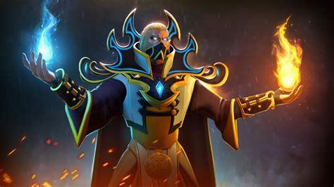 invoker magic fighter flame dota  video game desktop
