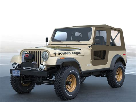 jeep gold the gallery for gt jeep cj7 golden eagle