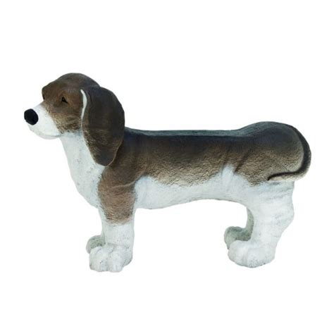 dog bench saapni com polystone dog bench 35 quot w 24 quot h 92692