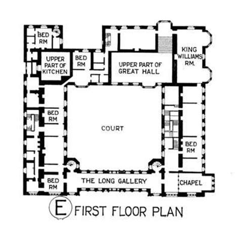 Medieval Manor House Floor Plan 180 Best Architecture Plans Images On Pinterest Plants