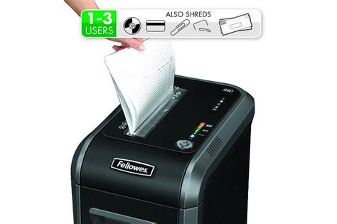 paper shredders reviews fellowes powershred 99ci paper shredder review