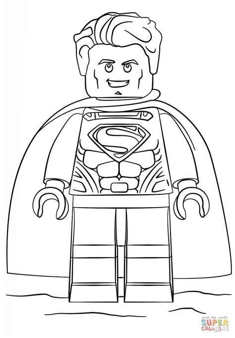 free printable coloring pages lego batman lego superman coloring page free printable coloring pages