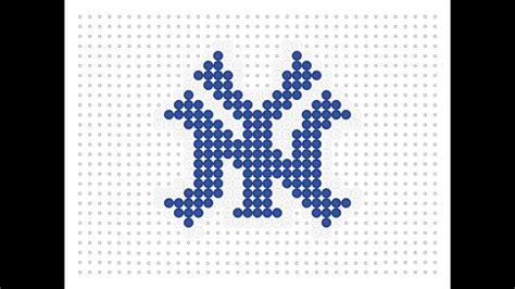 nyc bead show hama bead new york yankees logo logo series 2 13