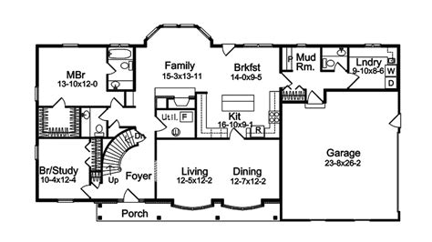 american style homes floor plans harmon oak early american home plan 057d 0032 house
