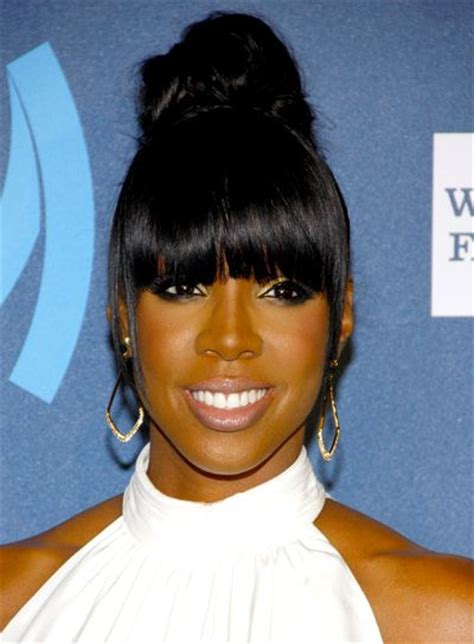 chinese bangs on black women black updos updo chinese bangs and 84