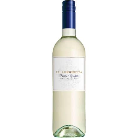 best italian pinot grigio pinot grigio ca lunghetta white wine