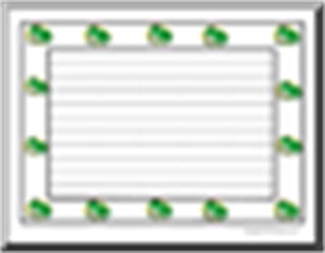frog border writing paper frogs theme units teaching materials page 1 abcteach