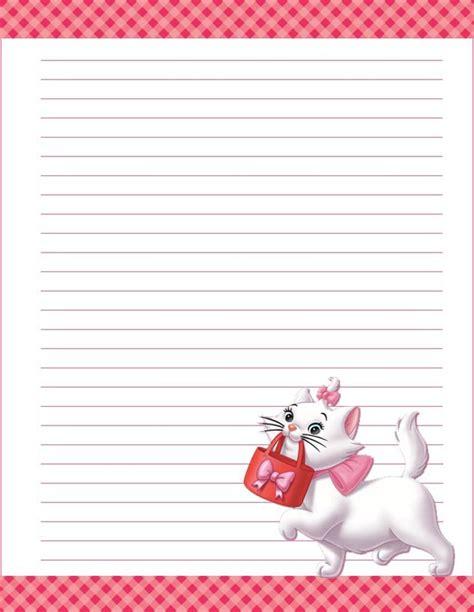 imagenes de amor para escribir dise 241 os de cartas con personajes de dibujos para imprimir