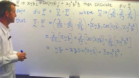 divergence   vector field vector calculus youtube