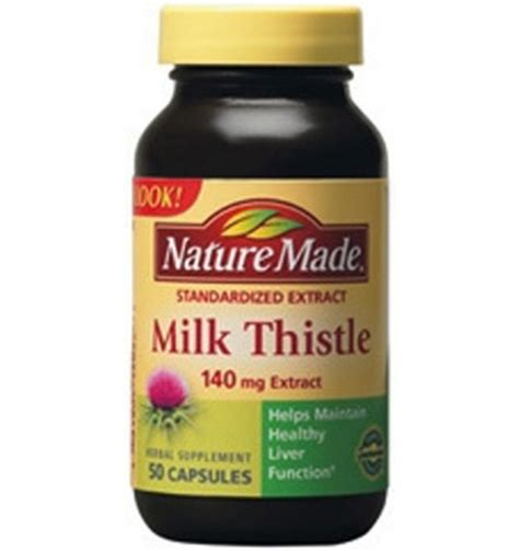 Liver Detox Acne Cure by Milk Thistle May Be The Most Effective Liver Protecting