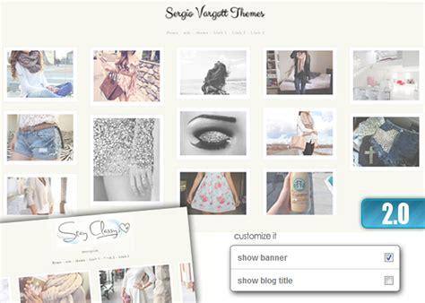 tumblr themes upload fashion 2 theme 2 0 five column upgraded tumblr themes