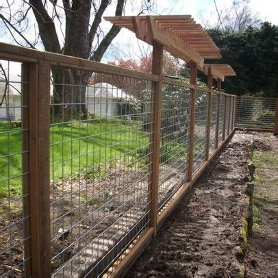 Wood And Wire Trellis Gardens To Be And Fence Design On