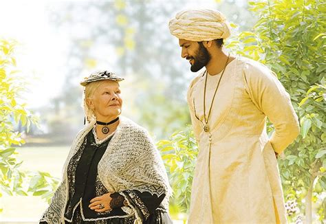 movie queen victoria judi dench dench in the first victoria abdul trailer and poster