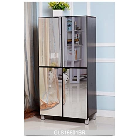 Large Shoe Storage Cabinet Large Storage Space Cabinet For Shoes Storage With Mirror Doors