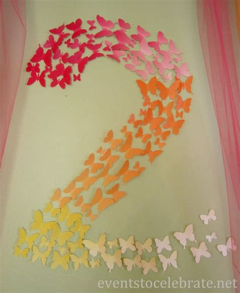 30 best butterfly wall decorations images on