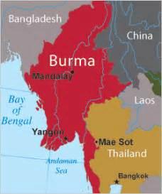Burma World Map by Frontline World Rough Cut Burma Inside The Saffron