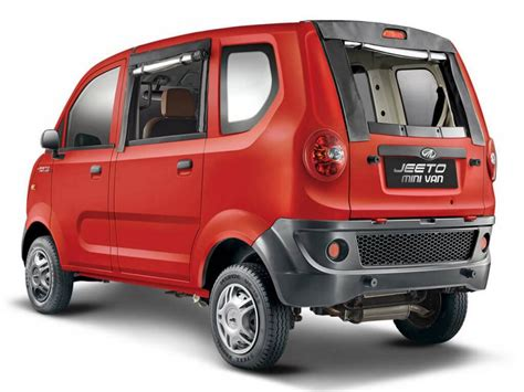 mahindra price mahindra jeeto minivan launched in india price specs