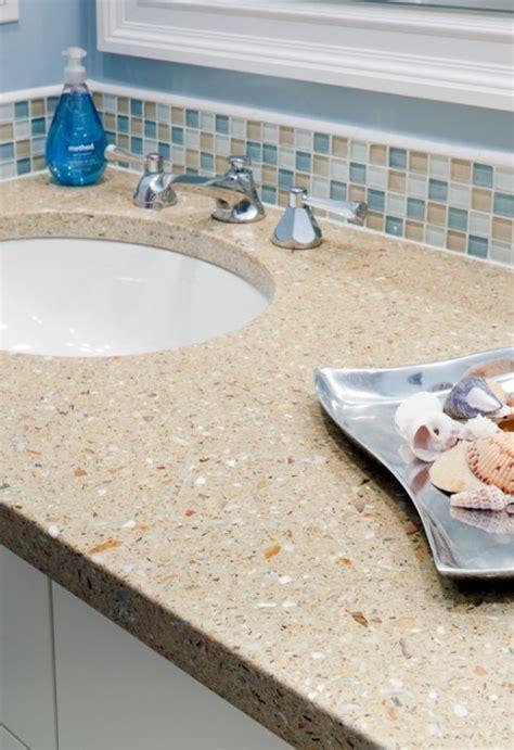 Beach Theme Bathroom Floor Tile, Sealife Marine Theme