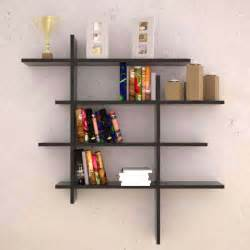 sweet dark wooden wall shelves ideas with awesome modern