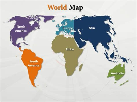 powerpoint world map template world powerpoint maps world ppt map world maps with