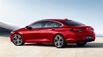 buick regal sedan 2018 buick regal sedan revealed in shanghai minus gs model