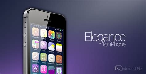 iphone themes names elegance ios 7 theme for iphone lives up to its name in
