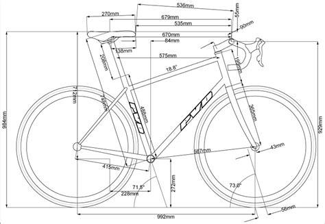 bicycle frame design dimensions file pvd road bike rev 2 gif pvdwiki