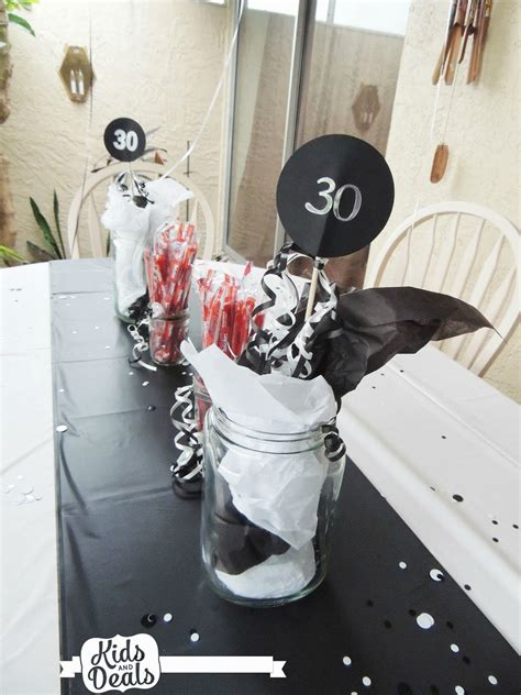 kids and deals a 30th birthday party table decorations