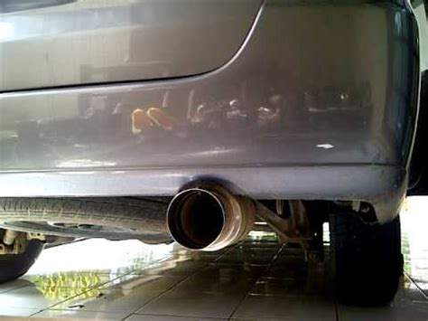 Knalpot Mobil Avansa Hks suara knalpot racing innova bass bulat by hks