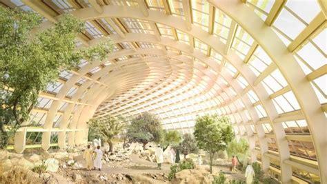 Largest Botanical Garden In World World S Largest Botanical Garden To Bloom In The Desert Of Oman Inhabitat Green Design