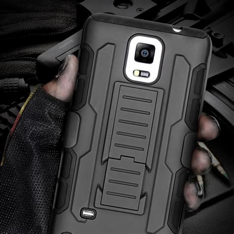 Casing Hybrid Armor Kick Stand Gundam Samsung Galaxy Note 4 buy wholesale galaxy note belt clip from china