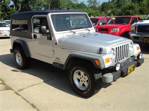 Jeeps For Sale Cincinnati Ohio 2004 Jeep Wrangler Unlimited For Sale In Cincinnati Oh