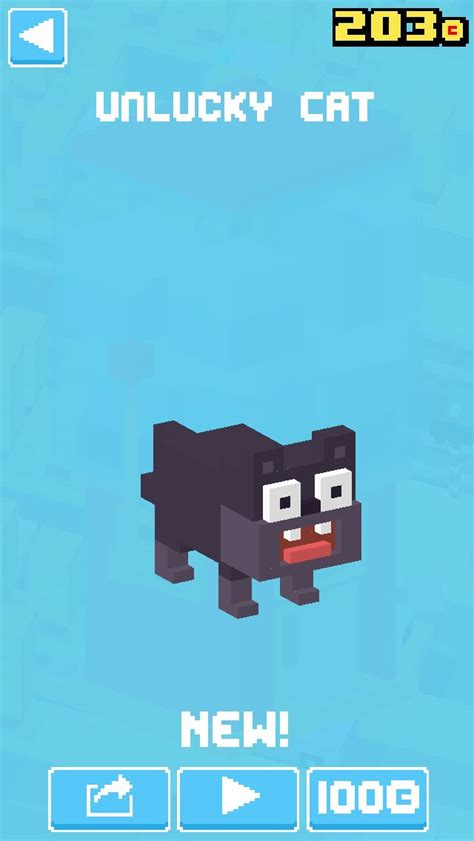 how to get stuff on crossy road unlucky cat crossy road crossy road pinterest crossy