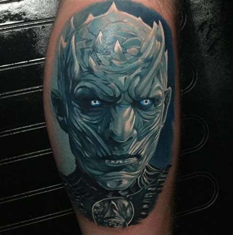 the night king tattoo inkstylemag