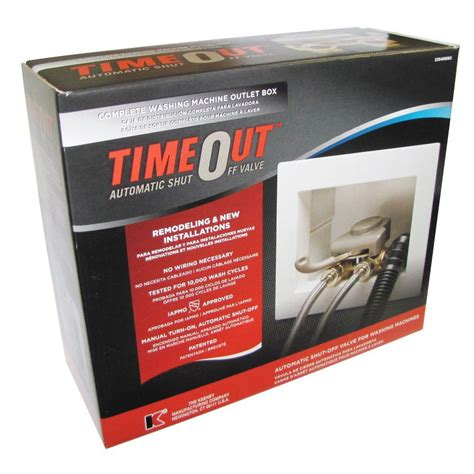 timeout 1 2 in brass washing machine automatic timer
