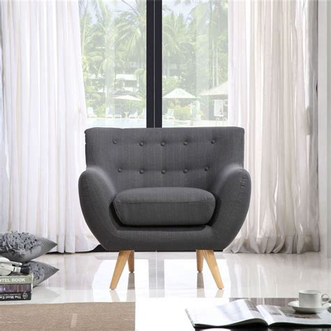 charcoal grey armchair sixties armchair charcoal grey icon by design