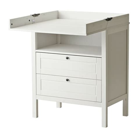 Ikea Commode à Langer by Sundvik Table 224 Langer Commode Blanc Ikea