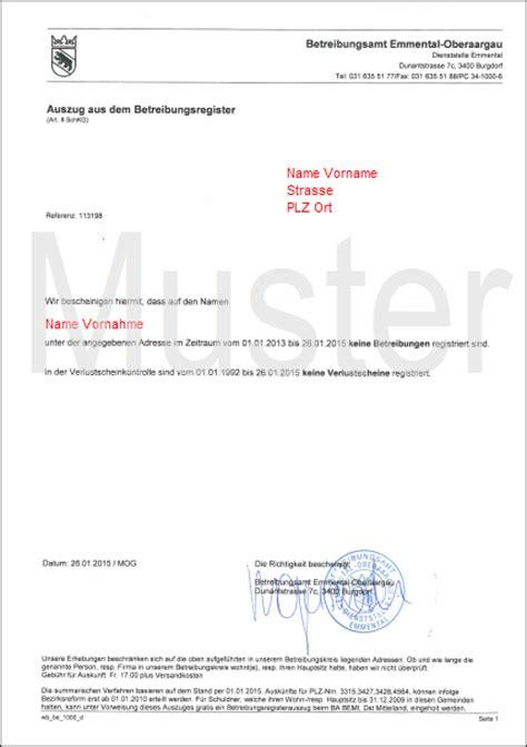 Rechnung Schweiz Lieferung Frankreich Betreibungsauszug Selbstauskunft F 252 R Wohnungsmiete Arbeitsvertrag Etc